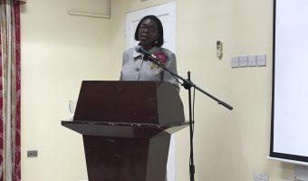 AGM Guest Speaker Hon Emma Hippolyte